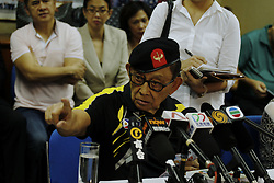 August 9, 2016 - Former president of the Philippines, Fidel Valdez Ramos (88) address local and international medias at the press conference held by Consulate General of the Philippines in Hong Kong. Ramos is in Hong Kong as a special convoy seeking for dialogue with China over disputed islands in the South China Sea. Aug 9, 2016. Hong Kong. Liau Chung Ren/ZUMA (Credit Image: © Liau Chung Ren via ZUMA Wire)