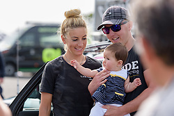 Pauline Ferrand Prevot is in demand for photos with fans old and young at Grand Prix de Plouay Lorient Agglomération a 121.5 km road race in Plouay, France on August 26, 2017. (Photo by Sean Robinson/Velofocus)