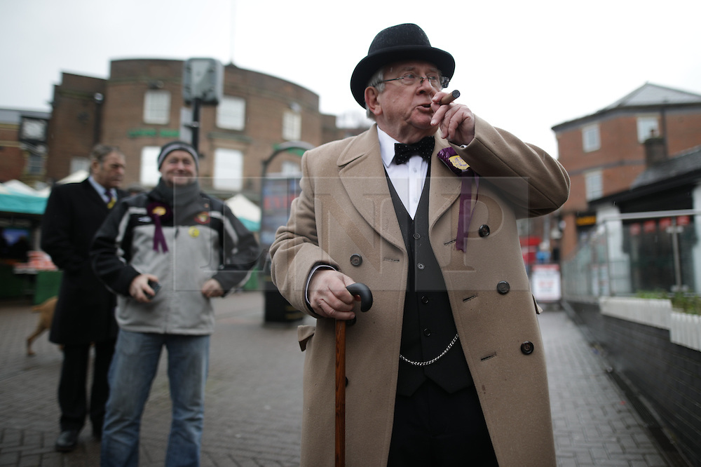 © Licensed to London News Pictures . 28/01/2017 . Stoke-on-Trent , UK . UKIP formally launch their campaign in the by-election in the constituency of Stoke-on-Trent Central , at their new campaign shop at 1 Piccadilly in Stoke , with candidate - and party leader - Paul Nuttall . The seat was vacated when Tristram Hunt resigned . Photo credit : Joel Goodman/LNP