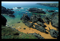 Beach on Belle Ile en Mer, Brittany - Photograph by Owen Franken