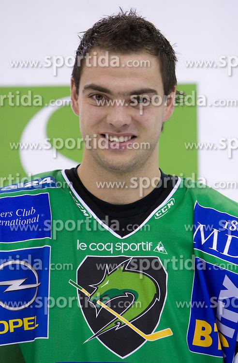 Igor Cvetek of HDD Tilia Olimpija before new season 2008/2009,  on September 17, 2008 in Arena Tivoli, Ljubljana, Slovenia. (Photo by Vid Ponikvar / Sportal Images)