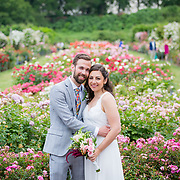 Emma and Eric - Brooklyn Botanic Gardens