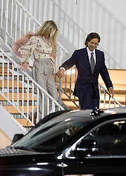 Gwyneth Paltrow looks worse for wear holding her husband Brad Fulchuk's hand while leaving the GLAAD Awards in Beverly Hills, CA. 28 Mar 2019 Pictured: Gwyneth Paltrow, Brad Fulchuk. Photo credit: MEGA TheMegaAgency.com +1 888 505 6342