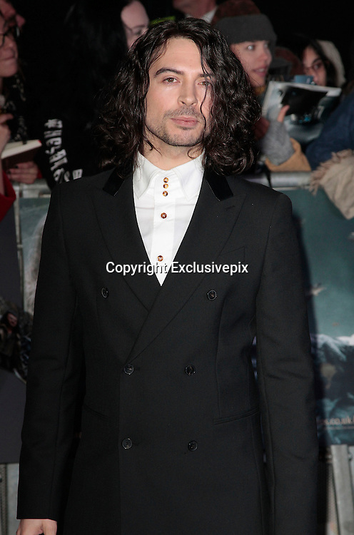 Dec 1, 2014 - The Hobbit: The Battle Of The Five Armies -World Premiere - Red Carpet arrivals at Odeon,  Leicester Square, London<br /> <br /> Pictured: Ryan Gage<br /> ©Exclusivepix Media