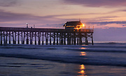 Another View of the Cocoa Beach Pier at Sunrise - Lighting the Way
