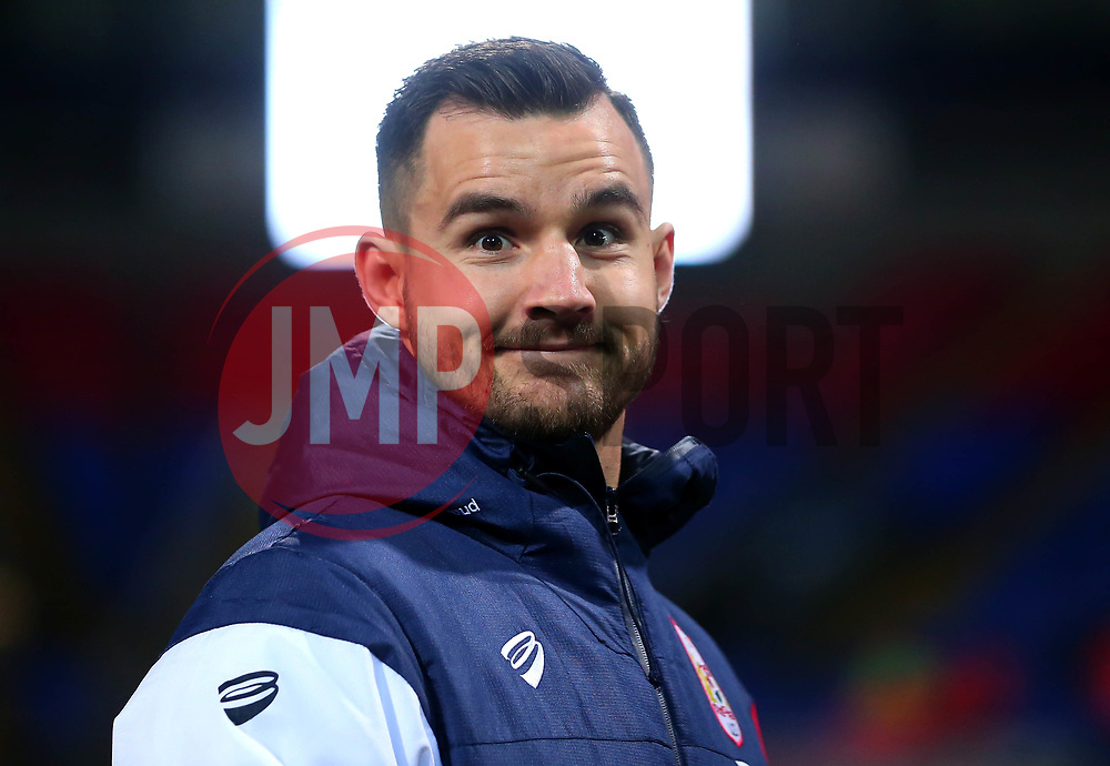 Bailey Wright of Bristol City arrives at the Macron Stadium ahead of the fixture with Bolton Wanderers - Mandatory by-line: Robbie Stephenson/JMP - 02/02/2018 - FOOTBALL - Macron Stadium - Bolton, England - Bolton Wanderers v Bristol City - Sky Bet Championship