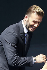 China- David Beckham promotional event 20 Sep 2016