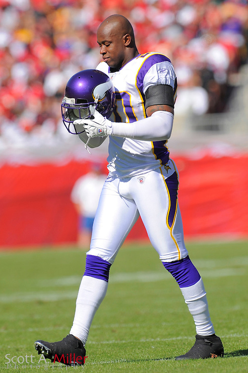 Nov. 16, 2008; Tampa, FL, USA; Minnesota Vikings defensive back Madieu Williams (20) in action during the  Vikings game against the Tampa Bay Buccaneers at Raymond James Stadium. The Bucs won 19-13. ...©2008 Scott A. Miller