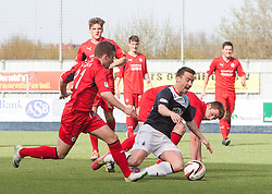 Falkirk's Mark Millar.<br /> Falkirk 2 v 1 Raith Rovers, Scottish Championship game played today at The Falkirk Stadium.<br /> © Michael Schofield.