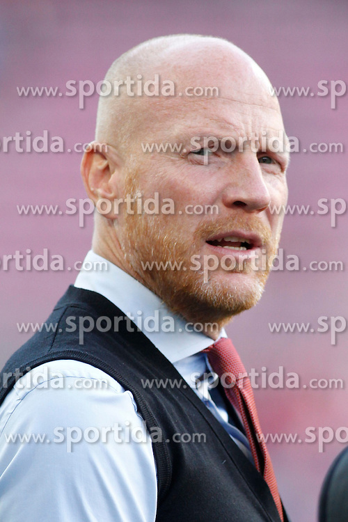 06.05.2015, Camp Nou, Barcelona, ESP, UEFA CL, FC Barcelona vs FC Bayern Muenchen, Halbfinale, Hinspiel, im Bild Sportdirektor Matthias Sammer (FC Bayern Muenchen) // during the UEFA Champions League semi finals 1st Leg match between FC Barcelona and FC Bayern Munich at the Camp Nou in Barcelona, Spain on 2015/05/06. EXPA Pictures &copy; 2015, PhotoCredit: EXPA/ Eibner-Pressefoto/ Schueler<br /> <br /> *****ATTENTION - OUT of GER*****