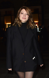 Boucheron Cocktail Party : Outside Arrivals At Place Vendome In Paris, Francoi-Henri Pinault & Salma Hayek host the Party. 20 Jan 2019 Pictured: Lea Seydoux. Photo credit: Neil Warner/MEGA TheMegaAgency.com +1 888 505 6342