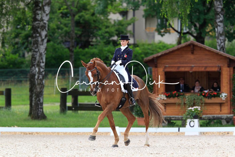 Ackermann Sabrina (SUI) - Flint Star<br /> FEI European Dressage Championship Young Riders - Bern 2012<br /> © Hippo Foto - Leanjo de Koster