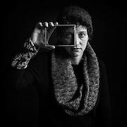 """Hélène Degrandcourt par Sylvain Labeste Portraits d'acteurs et de techniciens sur le tournage de """"Nos Vies Formidables"""" de Fabienne Godet. Lumière naturelle. Janvier 2017. Tournage Nos Vies Formidables de Fabienne Godet"""