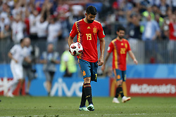 Diego Costa of Spain during the 2018 FIFA World Cup Russia round of 16 match between Spain and Russia at the Luzhniki Stadium on July 01, 2018 in Moscow, Russia