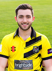 Matt Taylor of Gloucestershire Cricket poses for a headshot in the NatWest T20 Blast kit - Mandatory by-line: Robbie Stephenson/JMP - 04/04/2016 - CRICKET - Bristol County Ground - Bristol, United Kingdom - Gloucestershire  - Gloucestershire Media Day