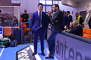 Gioffrè Simone, Galbiati Paolo<br /> Happycasa Brindisi - Fiata Torino<br /> Legabasket Serie A 2018-2019<br /> Brindisi , 10/03/2019<br /> Foto Michele Longo/ Ciamillo-Castoria
