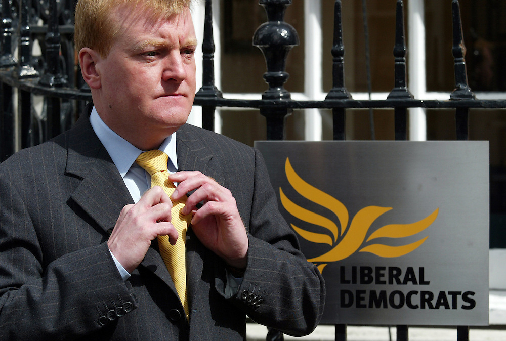 Charles Peter Kennedy MP ( 25 November 1959), Scottish politician.<br /> From 9 August 1999 until 7 January 2006, he was the leader of the Liberal Democrats, the third largest political party in the United Kingdom.<br /> Copyrighted work <br /> Permission must be sought before use of this image.<br /> Alex Ekins <br /> 0114 2630277<br /> 07901883 994