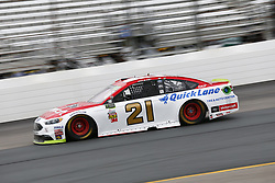 September 22, 2017 - Loudon, New Hampshire, United States of America - September 22, 2017 - Loudon, New Hampshire, USA: Ryan Blaney (21) takes to the track to practice for the ISM Connect 300 at New Hampshire Motor Speedway in Loudon, New Hampshire. (Credit Image: © Justin R. Noe Asp Inc/ASP via ZUMA Wire)