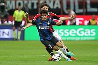 "Philippe Coutinho Inter<br /> Milano 07/10/2012 Stadio ""San Siro""<br /> Football Calcio Serie A 2012/13<br /> Milan v Inter<br /> Foto Insidefoto Paolo Nucci"