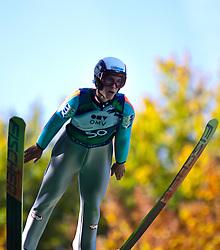 08.10.2010, Paul Ausserleitner Schanze, Bischofshofen, AUT, Österreichische Staatsmeisterschaften Skispringen, im Bild Florian Altenburger, EXPA Pictures © 2010, PhotoCredit: EXPA/ J. Feichter