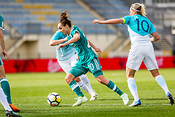 Lina Magull of Germany during football match between Slovenia and Germany in Womans Qualifications for World Championship 2019, on April 10, 2018 in Sports park Domzale, Domzale, Slovenia. Photo by Ziga Zupan / Sportida