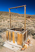 Water well, Bodie State Historic Park, California USA