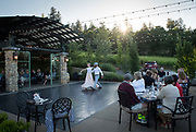 Ballerina performance at winemaker dinner, DANCIN Vineyards near Jacksonville,  Rogue Valley AVA, Southern Oregon
