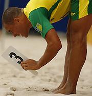 Football-FIFA Beach Soccer World Cup 2006 - Group A- Brazil - USA, Beachsoccer World Cup 2006. Brasilian's Buru - Rio de Janeiro - Brazil 07/11/2006. Mandatory credit: FIFA/ Manuel Queimadelos