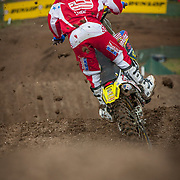 Ivan Tedesco was a last-minute choice for Team USA after Ricky Carmichael had injured his shoulder two weeks earlier at the Glen Helen US national. But of course Suzuki was heading to the event anyway with their Team Manager, Roger DeCoster, also being the Team Manager for Team USA. And because of that, Roger decided on Tedesco as Carmichael's replacement.