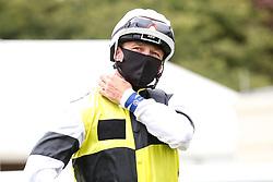 Jockey A McCarthy - Mandatory by-line: Robbie Stephenson/JMP - 06/08/2020 - HORSE RACING - Bath Racecourse - Bath, England - Bath Races