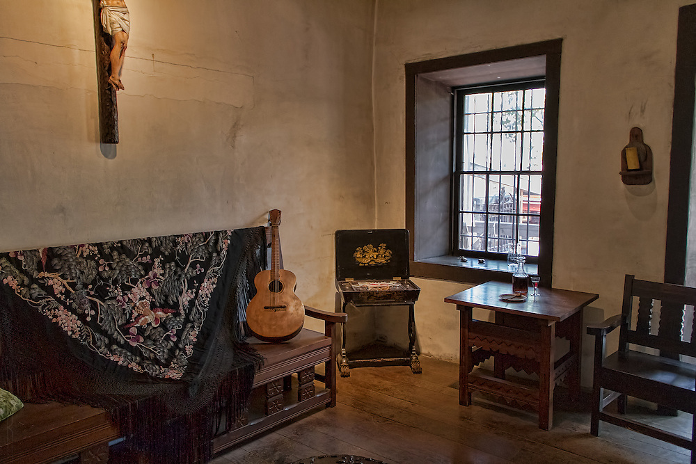 The Avila Adobe, the oldest house in Los Angeles, althought that designation is under scrutiny.