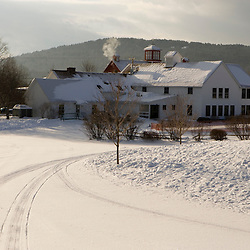 The lodge at the Quechee Ski Hill in Quechee, Vermont.