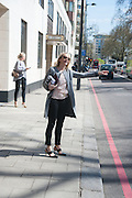 ELIZABETH GRIFFITH, Leaving The Seventh Annual Foreign Sisters Lunch in aid of Cancer Research UK. . The Dorchester 53 Park Lane. London. 1 May 2013.