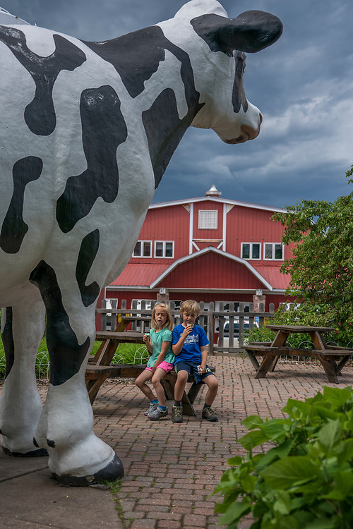 Jilbert Dairy ice cream shop in Marquette, Michigan.