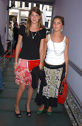 Left to right, PRINCESS FLORENCE VON PREUSSEN and PRINCESS AUGUSTA VON PREUSSEN at a polo players party hosted by AJM International Publishing and Cartier celebrating the 21st anniversary of the Cartier International Polo held at The Collection, London SW3 on 19th July 2005.<br /><br />NON EXCLUSIVE - WORLD RIGHTS