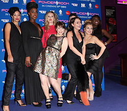 Cast from the  film Powder Room arriving at the premiere  in London, Wednesday, 27th November 2013. Picture by Stephen Lock / i-Images