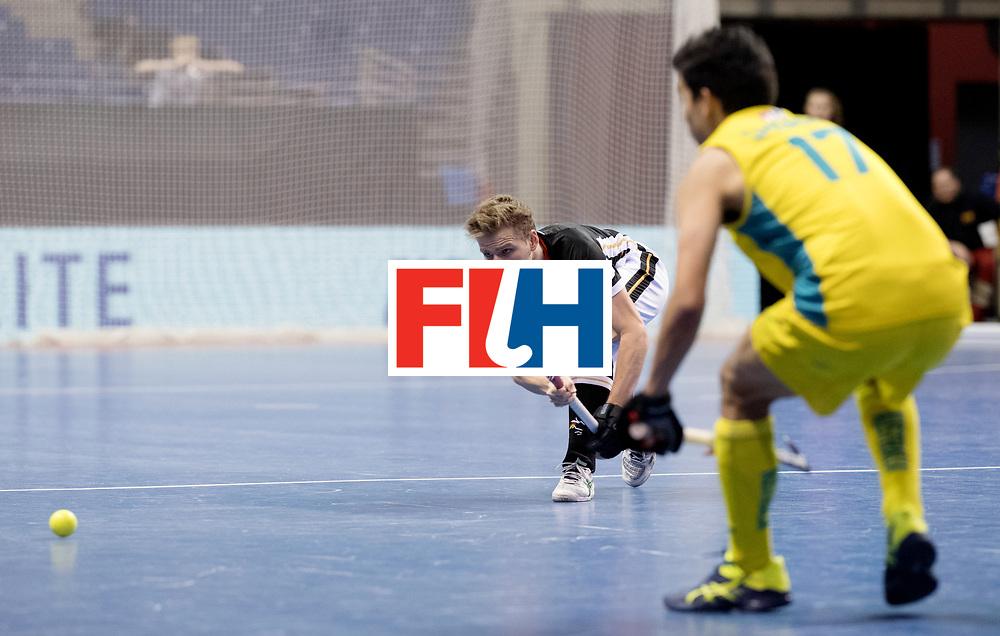 BERLIN - Indoor Hockey World Cup<br /> Men: Germany - Australia<br /> foto: Alexander Otte.<br /> WORLDSPORTPICS COPYRIGHT FRANK UIJLENBROEK