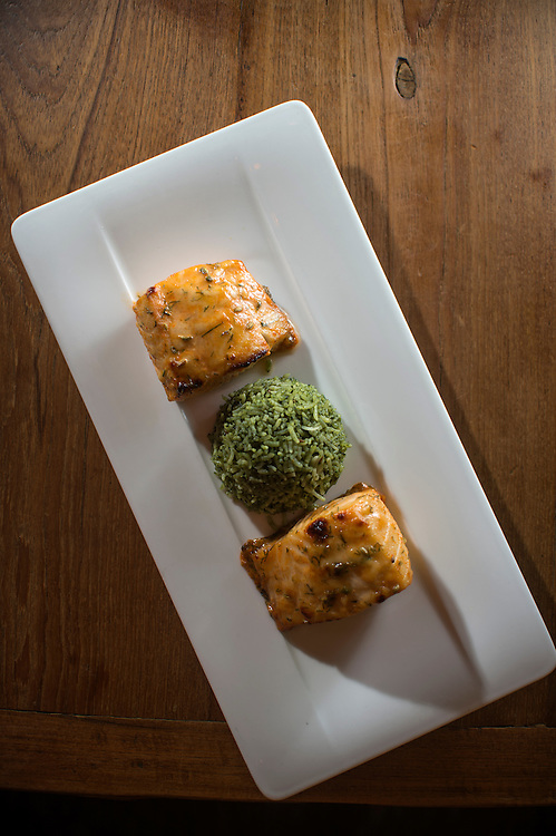Photo by Matt Roth<br /> Assignment ID: 30142124A<br /> <br /> Black Cod, made with fresh dill, honey, star anise, and red wine vinegar. Rasika, one of Restauranteur Ashok Bajaj's most popular restaurants in Washington, D.C. on Thursday, May 09, 2013