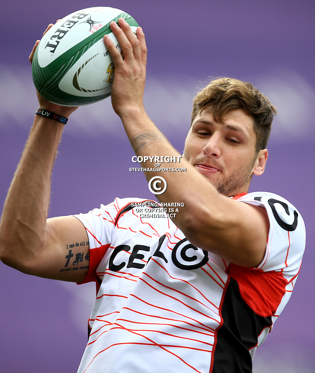 DURBAN, SOUTH AFRICA, 9 September, 2016 - Ruan Botha during The Cell C Sharks Captains Run at Growthpoint Kings Park in Durban, South Africa. (Photo by Steve Haag)<br /> <br /> images for social media must have consent from Steve Haag