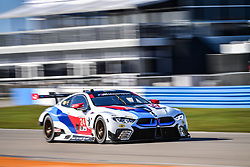 March 14, 2019 - Sebring, Etats Unis - 24 BMW TEAM RLL (USA) BMW M8 GTE GTLM JESSE KROHN (FIN) JOHN EDWARDS (USA) PHILIPP ENG  (Credit Image: © Panoramic via ZUMA Press)