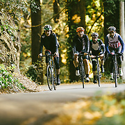 "Going up Old La Honda. ""Ride In The Redwoods"" 