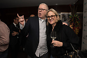 ROBERT FORREST; CHAR PILCHER, Sicily Lifestyle and Michael Roberts Host a film screening of  Sicily My Love. Bulgari Hotel, 20 March 2018