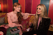 FLORENCE WELCH; LAURA BAILEY, Nick Cave and the Bad Seeds with The Vampire's Wife and Matchesfashion.com party to celebrate the end of their 2017 World tour. Lou lou's. Hertford St. Mayfair.