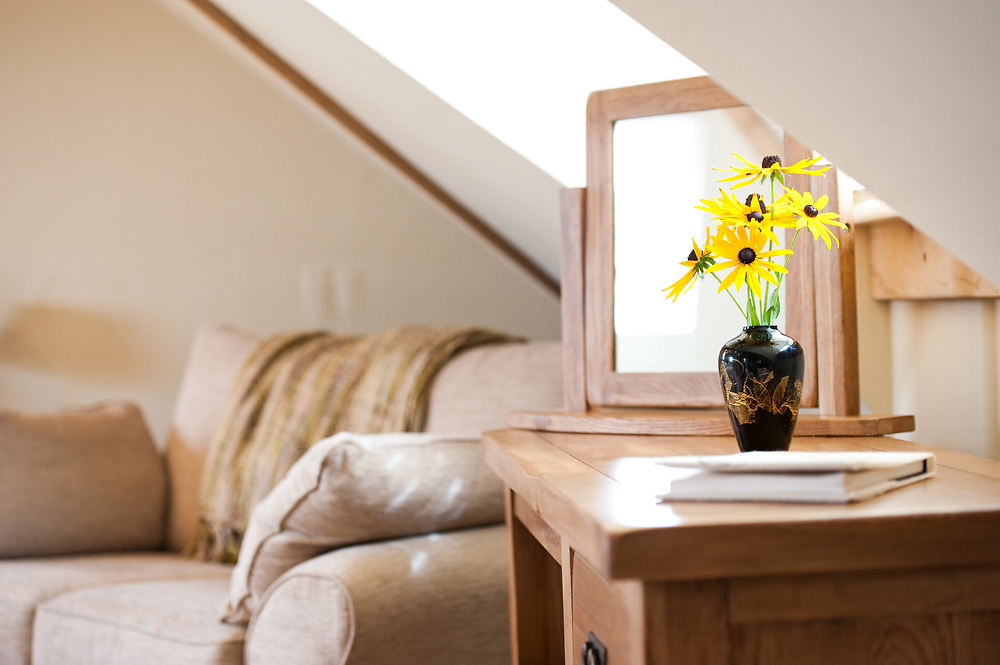 Interior Photography at the luxury Hopton House B&B set in the Shropshire Hills near Ludlow Shropshire