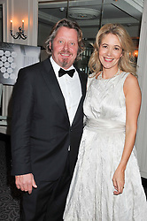 CHARLEY & OLIVIA BOORMAN at the Dyslexia Action Awards Dinner at The Savoy Hotel, London on 29th November 2012.