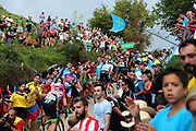 Peloton, pack in action during the 73th Edition of the 2018 Tour of Spain, Vuelta Espana 2018, Stage 14 cycling race, Cistierna - Les Praeres Nava 171 km on September 8, 2018 in Spain - Photo Angel Gomez/ BettiniPhoto / ProSportsImages / DPPI