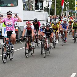 20-06-2015: Wielrennen: Omloop IJsseldelta: Zwolle<br /> ZWOLLE (NED) wielrennen<br /> De omloop van de Ijsseldelta voor vrouwen met start en finish in Zwolle voerde het vrouwenpeloton langs de mooiste plekjes van Overijssel <br /> De Zwolse Kisten Wild was de sterkste voor Monique van der Ree (Zundert) en Kelly Markus (Hoofddorp)