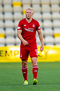 Curtis Main (#9) of Aberdeen FC during the Ladbrokes Scottish Premiership match between Livingston FC and Aberdeen FC at The Tony Macaroni Arena, Livingston, Scotland on 21 September 2019.