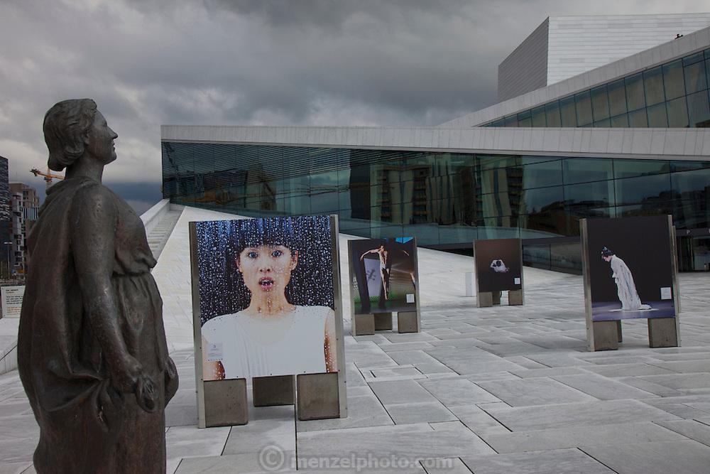 Opera House, Den Norske Opera and Ballett, Oslo, Norway.