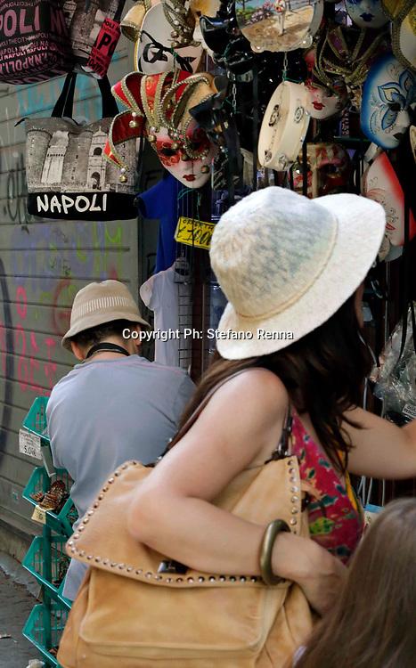 Napoli 11 agosto 2017<br /> Napoli invasa dai turisti <br /> Ph: Stefano Renna